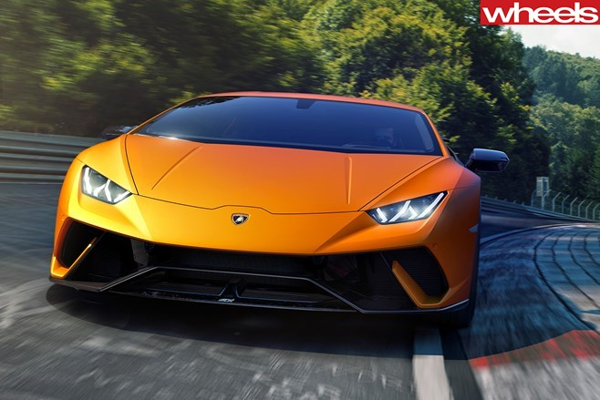 Lamborghini Huracan Performante unleashed